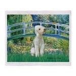 Bridge / Bedlington T Throw Blanket