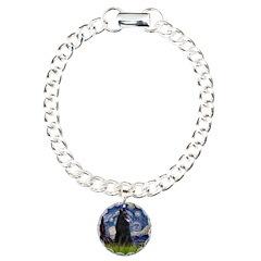Starry Night /Belgian Sheepdog Bracelet