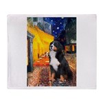 Cafe & Bernese Throw Blanket
