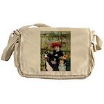 2 Sisters & Bernese Messenger Bag