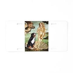 Venus and Bernese Aluminum License Plate