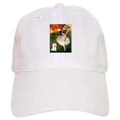 Ballet Dancer & Bichon Baseball Cap