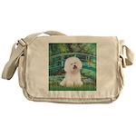 Bridge & Bichon Messenger Bag