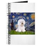 Starry Night Bichon Journal