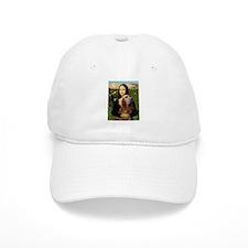 Mona & her Bloodhound Baseball Cap