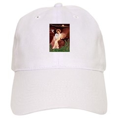 Seated Angel & Bolognese Baseball Cap