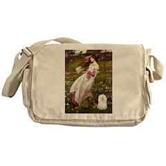 Windflowers & Bolognese Messenger Bag