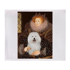 The Queen's Bolognese Throw Blanket