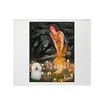 Fairies & Bolognese Throw Blanket