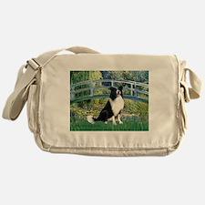 Bridge & Border Collie Messenger Bag