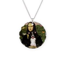 Mona & Border Collie Necklace
