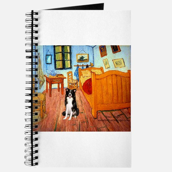 Room with Border Collie Journal