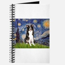 Starry Night Border Collie Journal