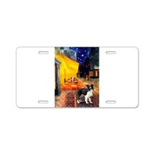 Cafe / Border Collie (Z) Aluminum License Plate