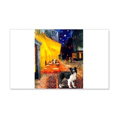 Cafe / Border Collie (Z) Wall Decal