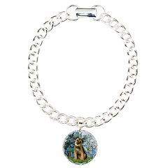Lilies 1 / Border T Bracelet