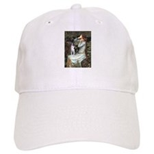 Ophelia & Boston Terrier Baseball Cap