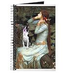 Ophelia & Boston Terrier Journal