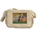 Garden / 3 Boxers Messenger Bag