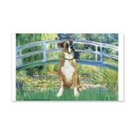 Bridge & Boxer 20x12 Wall Decal