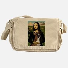Mona & Boxer Messenger Bag