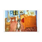 Room with a Boxer 20x12 Wall Decal