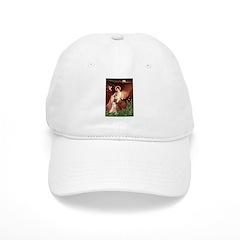 Seated Angel & Boxer Baseball Cap
