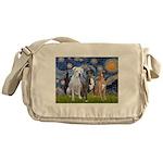 Starry / 3 Boxers Messenger Bag