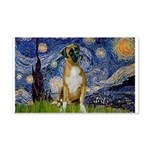 Starry / Boxer 20x12 Wall Decal