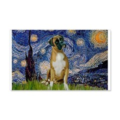 Starry / Boxer Wall Decal