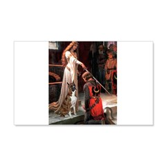 The Accolade & Boxer 20x12 Wall Decal