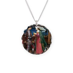 Knight & Boxer Necklace Circle Charm