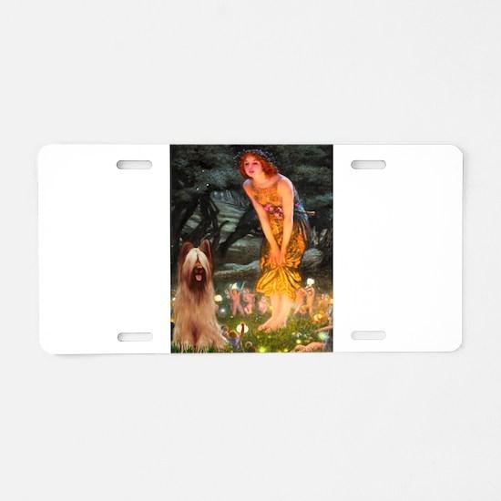 Fairies / Briard Aluminum License Plate