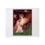 Angel/Brittany Spaniel Throw Blanket