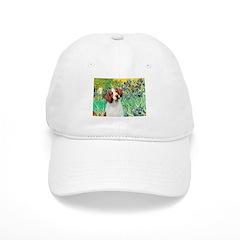 Irises/Brittany Baseball Cap