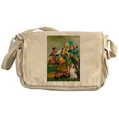 Spirit/Brittany Spaniel Messenger Bag