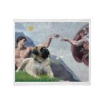 Creation / Bullmastiff Throw Blanket