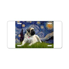 Starry / Bullmastiff Aluminum License Plate