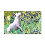 Irises / Bully #3 20x12 Wall Decal