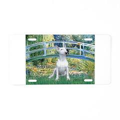 Bridge-BullTerrier (P) Aluminum License Plate