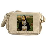 Mona's Bull Terrier Messenger Bag