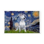 Starry/Bull Terrier (#4) 20x12 Wall Decal