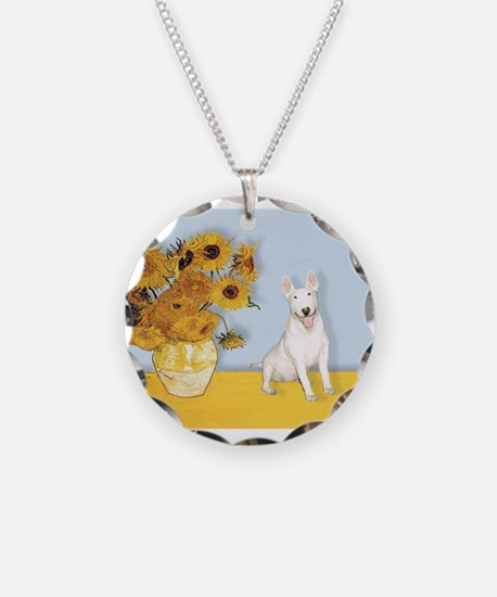 Sunflowers / Bully #4 Necklace Circle Charm