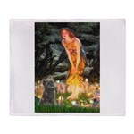 Midsummer/Cairn (brin) Throw Blanket