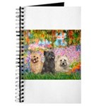 Garden/3 Cairn Terriers Journal