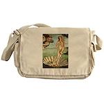 Venus / Cairn Terrier Messenger Bag