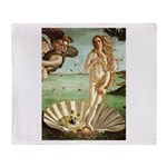 Venus / Cairn Terrier Throw Blanket