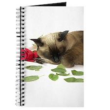 Unique Siamese cat Journal