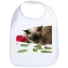 Unique Siamese cat Bib