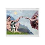 Creation / Catahoula Leopard Throw Blanket
